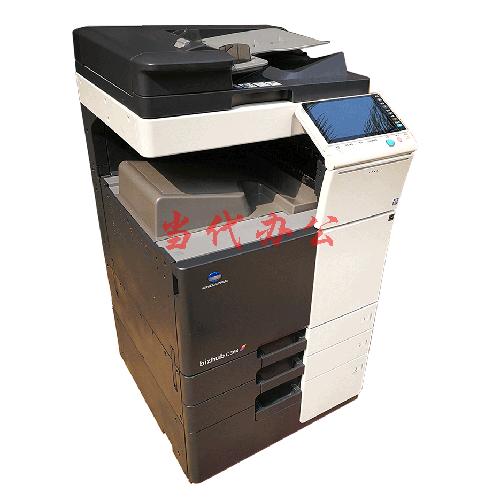 IC卡打印 身份验证打印 刷卡打印软件管控系统 原装柯尼卡美能达彩色复印机出租 Bizhub C364(带IC卡刷卡组件)